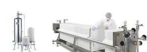 Módulo lenticular y filtro prensa de placas BECO